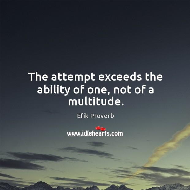 Efik Proverbs