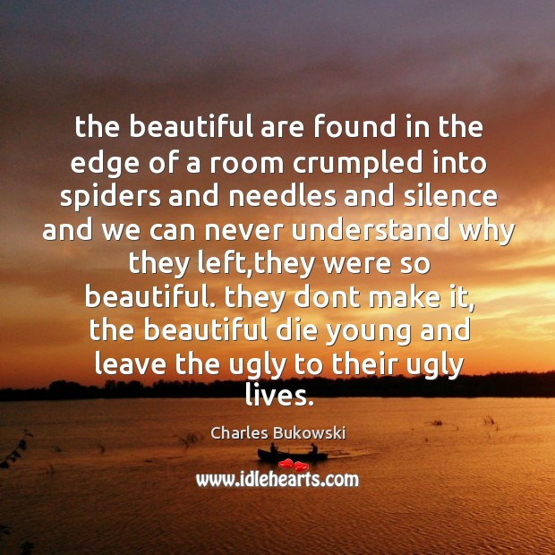 The beautiful are found in the edge of a room crumpled into Image