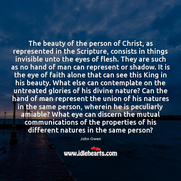 The beauty of the person of Christ, as represented in the Scripture, Image