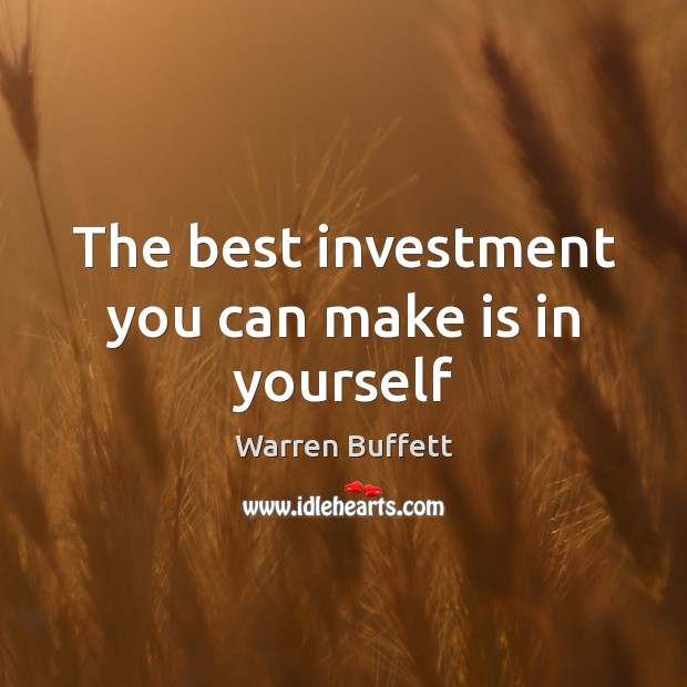 Image, The best investment you can make is in yourself
