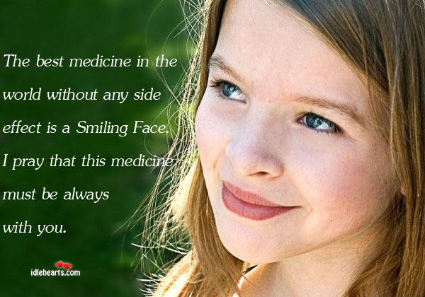 The Best Medicine In The World Without Any Side Effect Is…