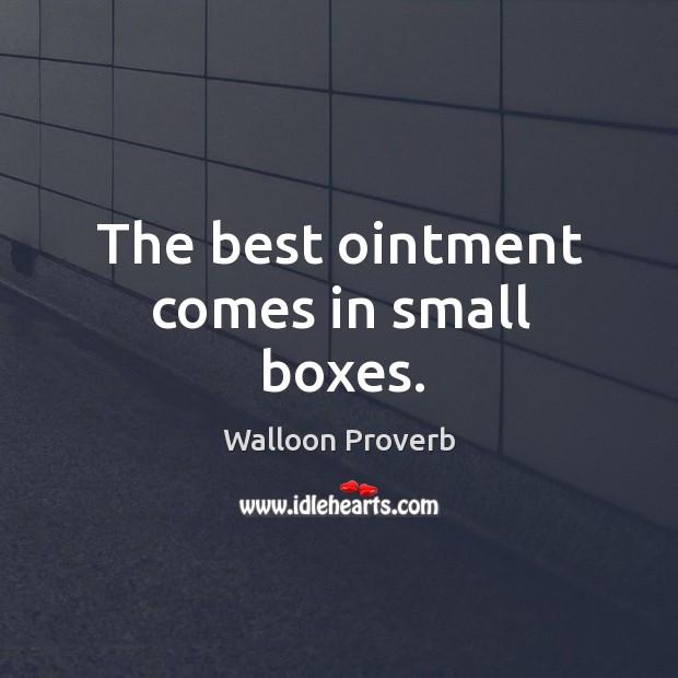 Walloon Proverbs