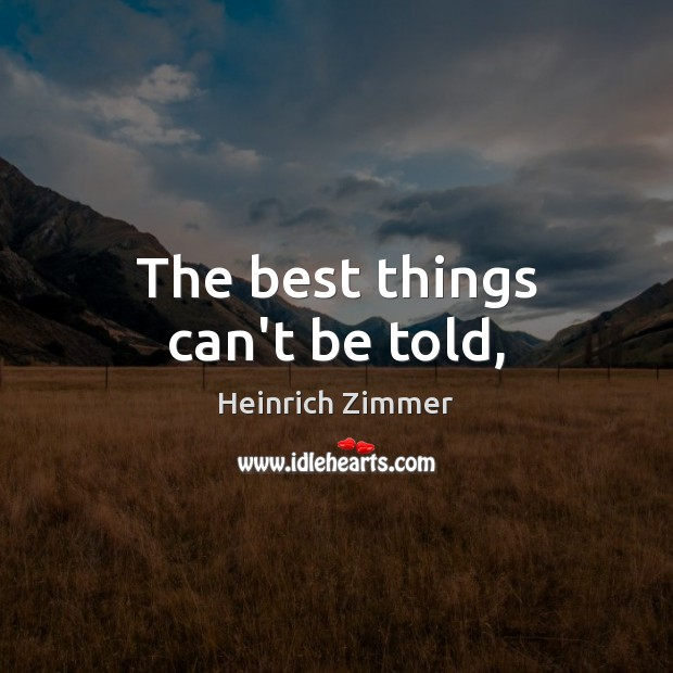 Picture Quote by Heinrich Zimmer