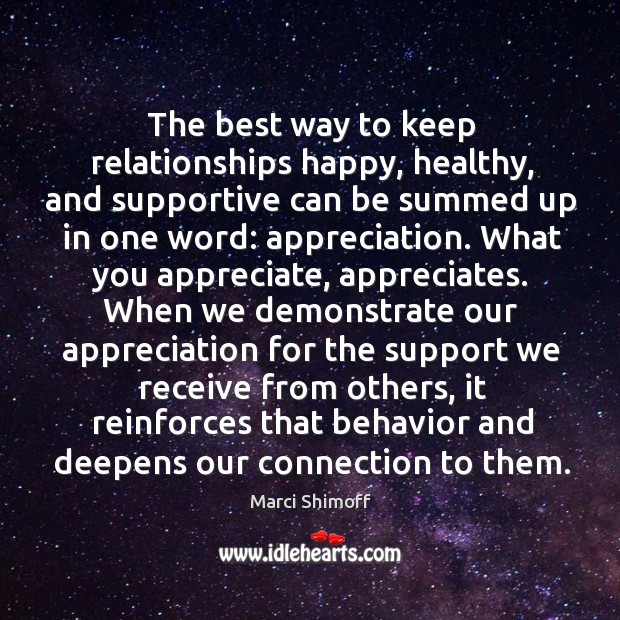 Image, The best way to keep relationships happy, healthy, and supportive can be
