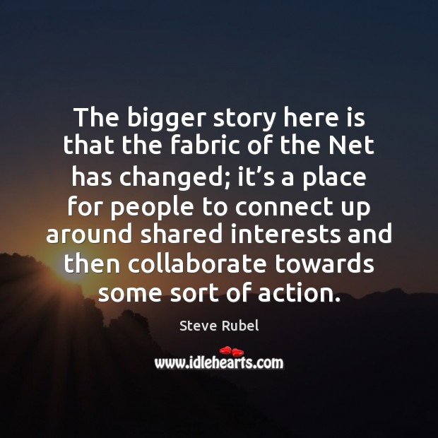 Image, The bigger story here is that the fabric of the Net has