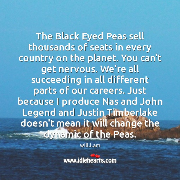 Image, The Black Eyed Peas sell thousands of seats in every country on