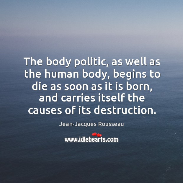 The body politic, as well as the human body Image