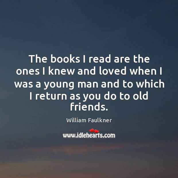The books I read are the ones I knew and loved when Image