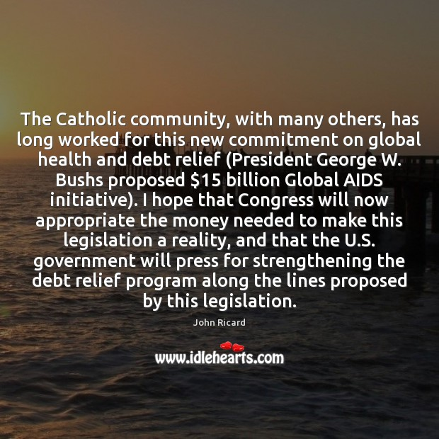 The Catholic community, with many others, has long worked for this new Image