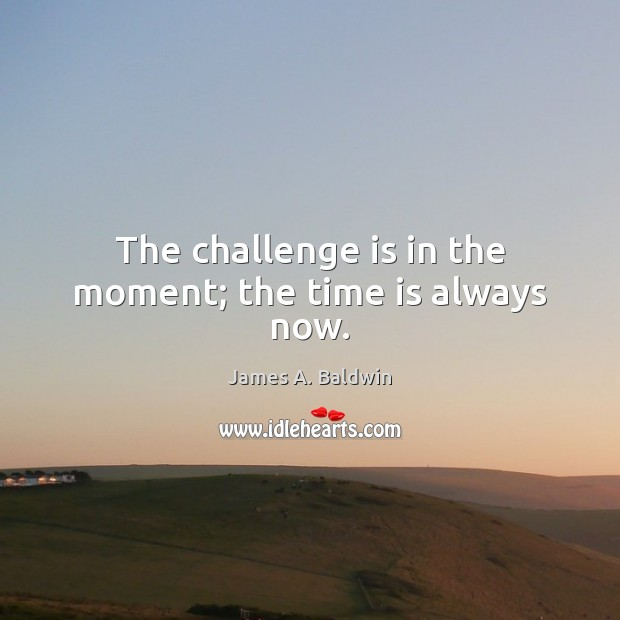 Picture Quote by James A. Baldwin