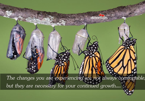 The Changes You Are Experiencing Are Not Always…