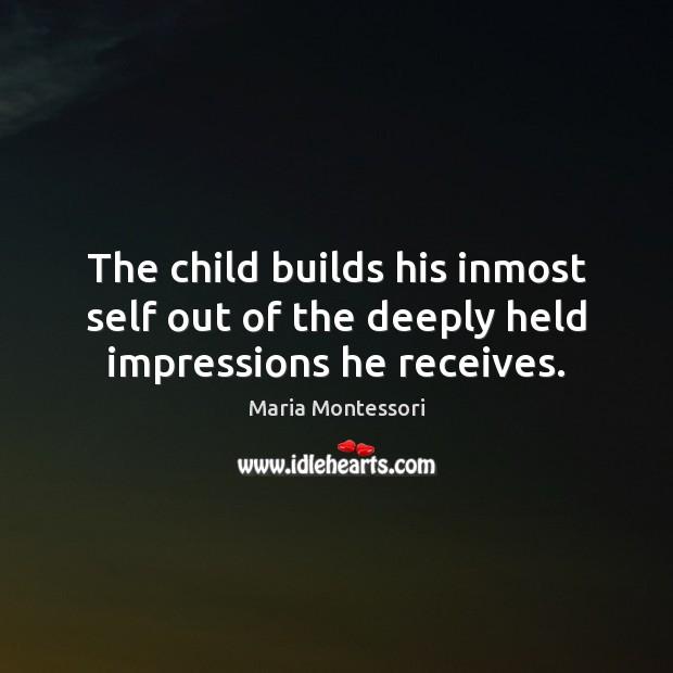 Picture Quote by Maria Montessori