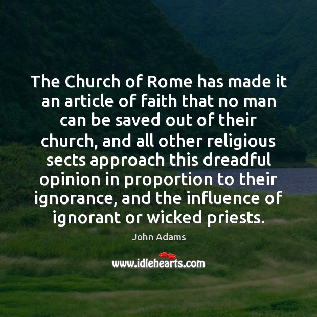 Image, The Church of Rome has made it an article of faith that