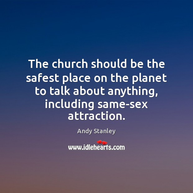 Image, The church should be the safest place on the planet to talk