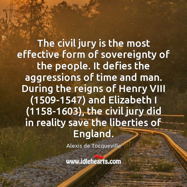 Image, The civil jury is the most effective form of sovereignty of the