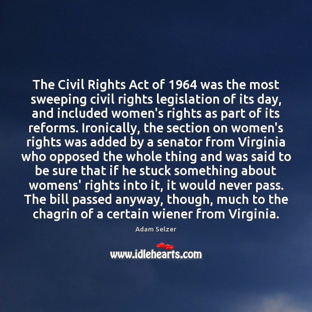 Image, The Civil Rights Act of 1964 was the most sweeping civil rights legislation