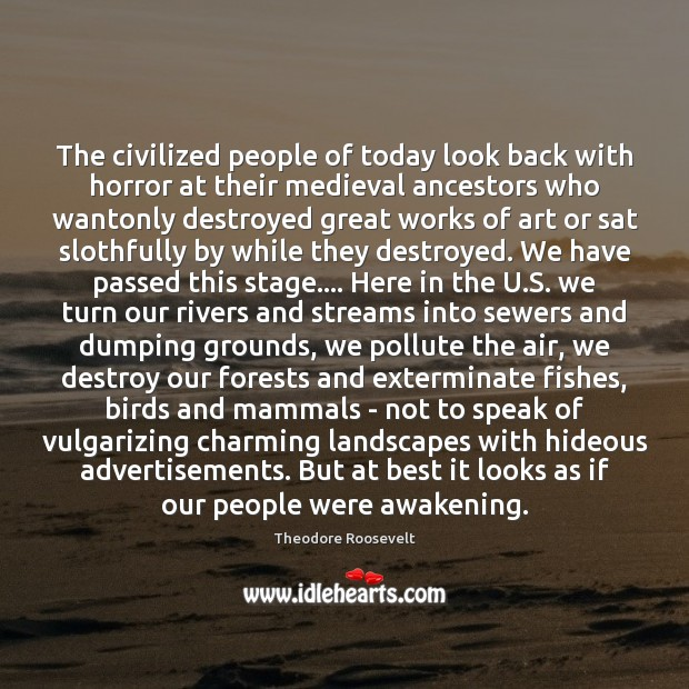 The civilized people of today look back with horror at their medieval Image
