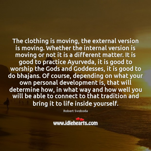Image, The clothing is moving, the external version is moving. Whether the internal
