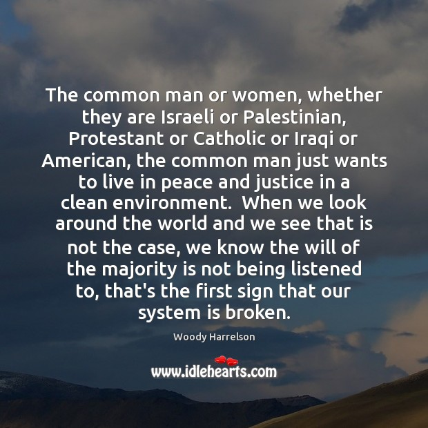 Image, The common man or women, whether they are Israeli or Palestinian, Protestant