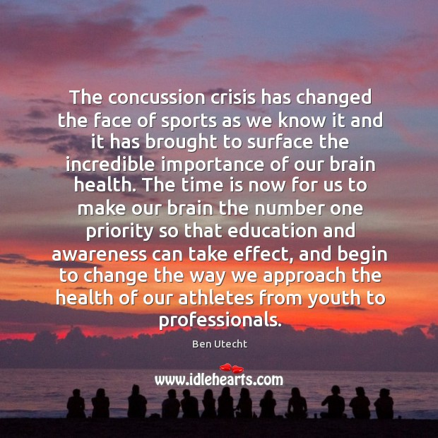The concussion crisis has changed the face of sports as we know Image