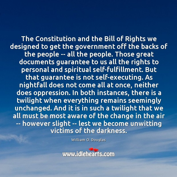The Constitution and the Bill of Rights we designed to get the Image