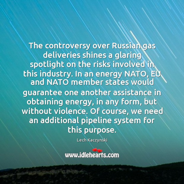 Image, The controversy over Russian gas deliveries shines a glaring spotlight on the