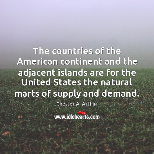 The countries of the American continent and the adjacent islands are for Image