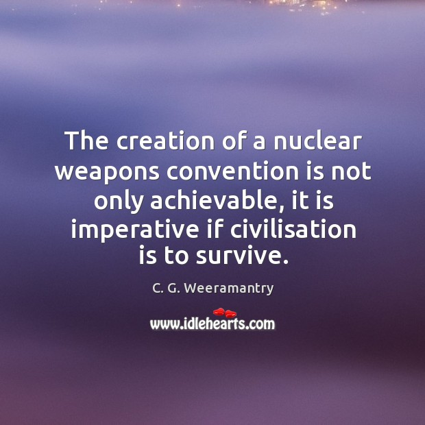 Image, The creation of a nuclear weapons convention is not only achievable, it
