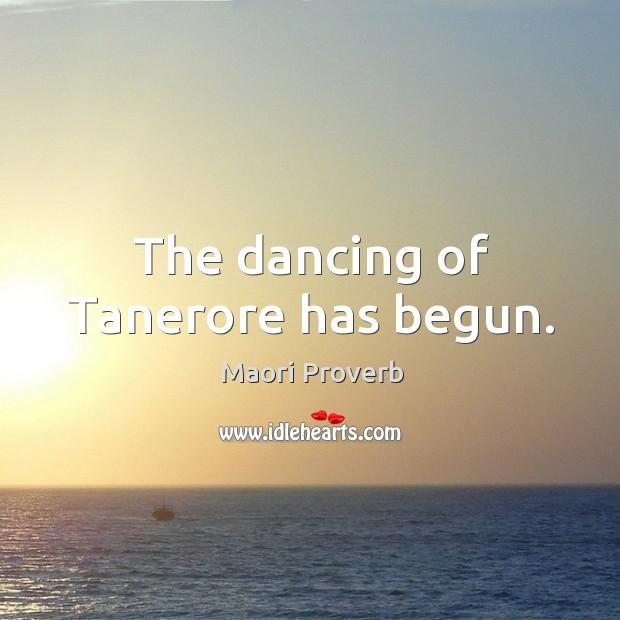 Image, The dancing of tanerore has begun.