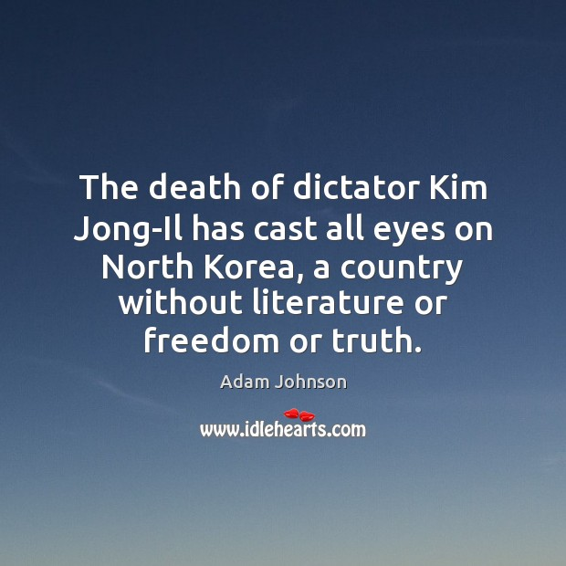 Image, The death of dictator Kim Jong-Il has cast all eyes on North