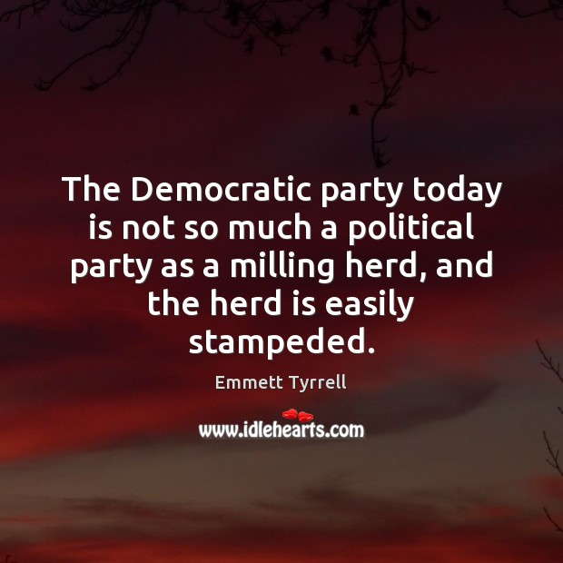 Image, The Democratic party today is not so much a political party as