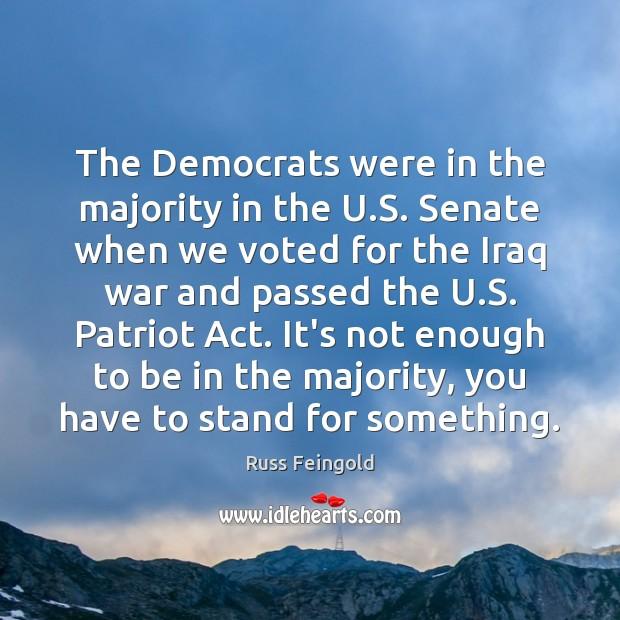 The Democrats were in the majority in the U.S. Senate when Image