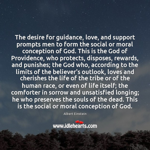 Image, The desire for guidance, love, and support prompts men to form the