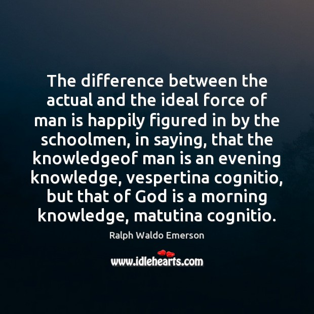 The difference between the actual and the ideal force of man is Image