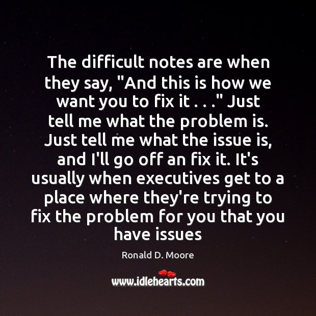 """Image, The difficult notes are when they say, """"And this is how we"""