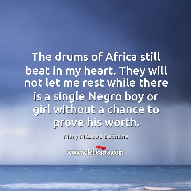 The drums of africa still beat in my heart. Image