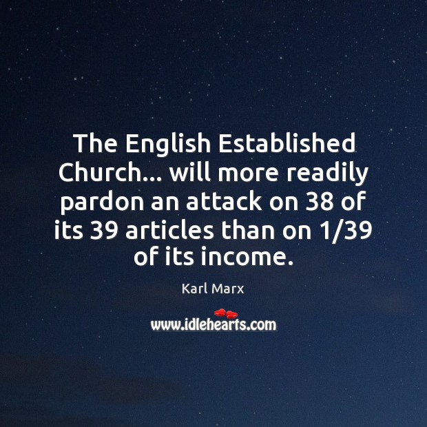 Image, The English Established Church… will more readily pardon an attack on 38 of