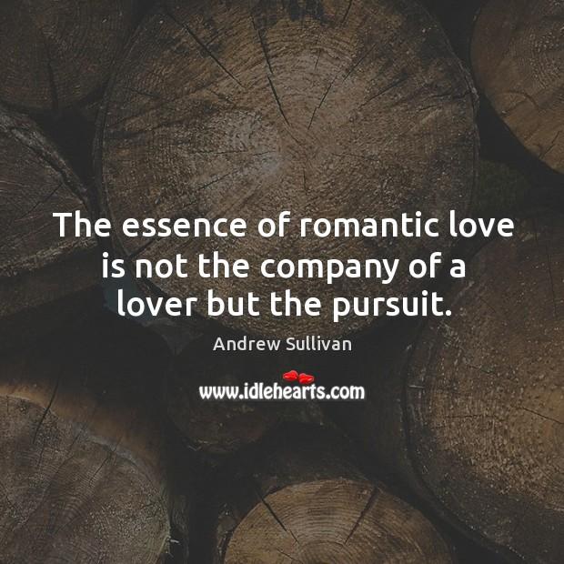 Romantic pursuit