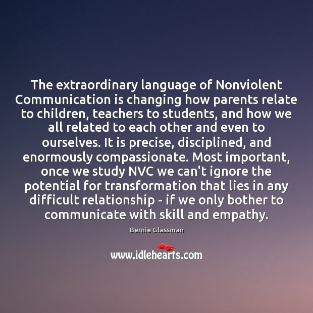 Image, The extraordinary language of Nonviolent Communication is changing how parents relate to