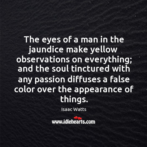 The eyes of a man in the jaundice make yellow observations on Image