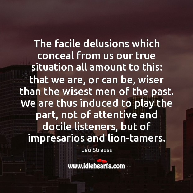 Picture Quote by Leo Strauss