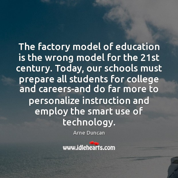 Image, The factory model of education is the wrong model for the 21st