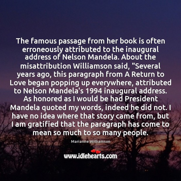 The famous passage from her book is often erroneously attributed to the Books Quotes Image
