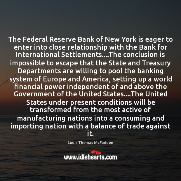 Image, The Federal Reserve Bank of New York is eager to enter into