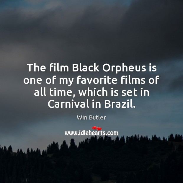 The film Black Orpheus is one of my favorite films of all Image