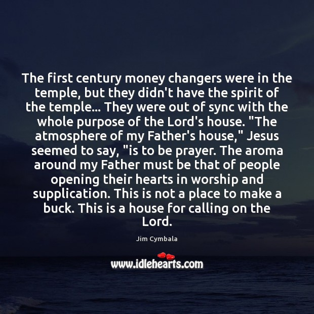 Image, The first century money changers were in the temple, but they didn't