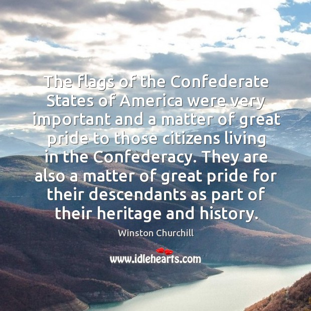 Image, The flags of the Confederate States of America were very important and
