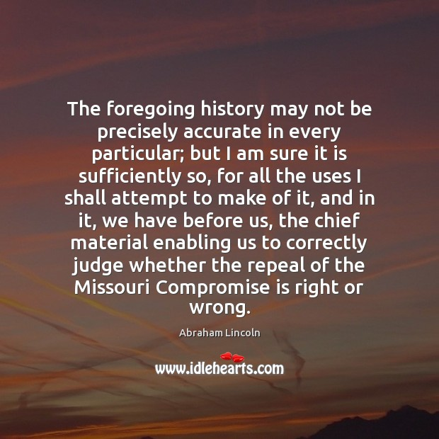 Image, The foregoing history may not be precisely accurate in every particular; but