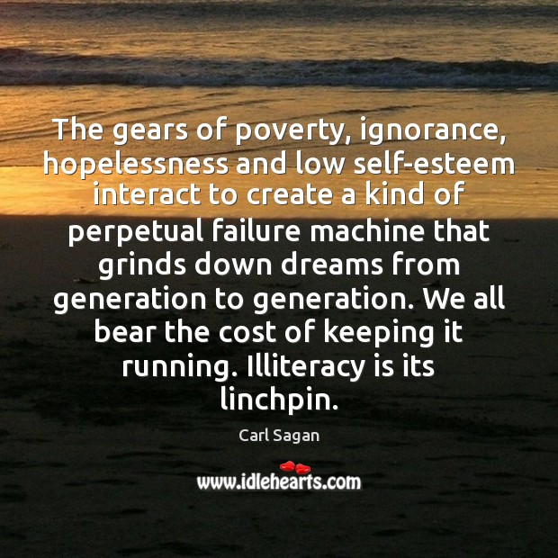 Image, The gears of poverty, ignorance, hopelessness and low self-esteem interact to create