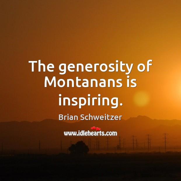 Image, The generosity of Montanans is inspiring.
